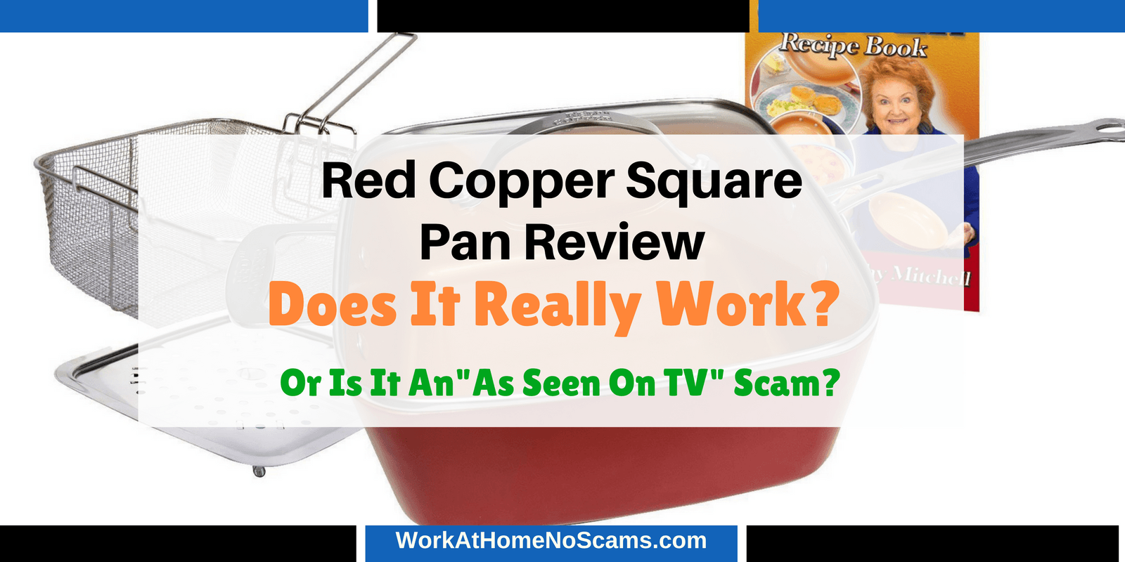 Red Copper Square Pan Review