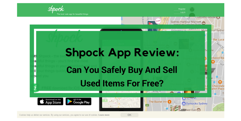 Shpock App Review: Scam or Does It Really Work?   More Real