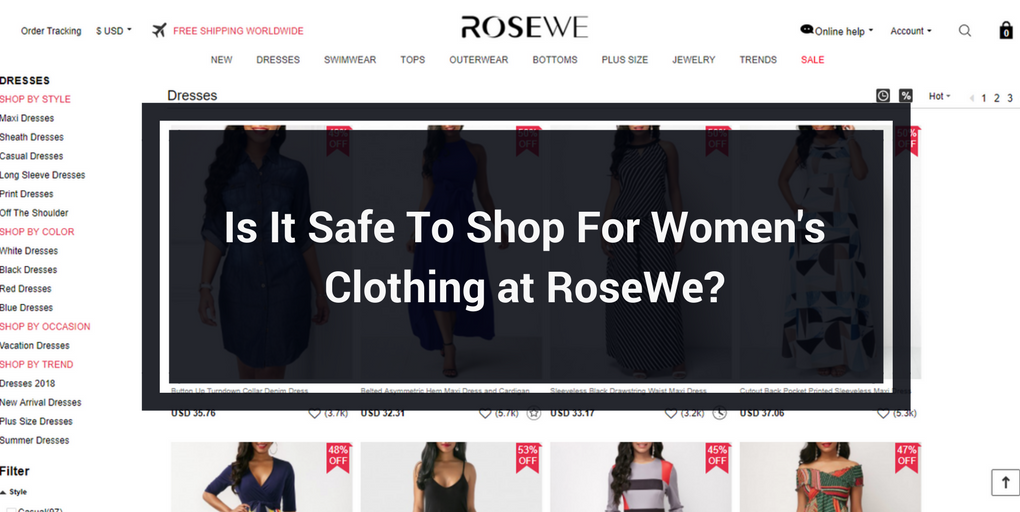 6c1dcdf8db RoseWe Review  Is It A Legit Fashion Store or Scam