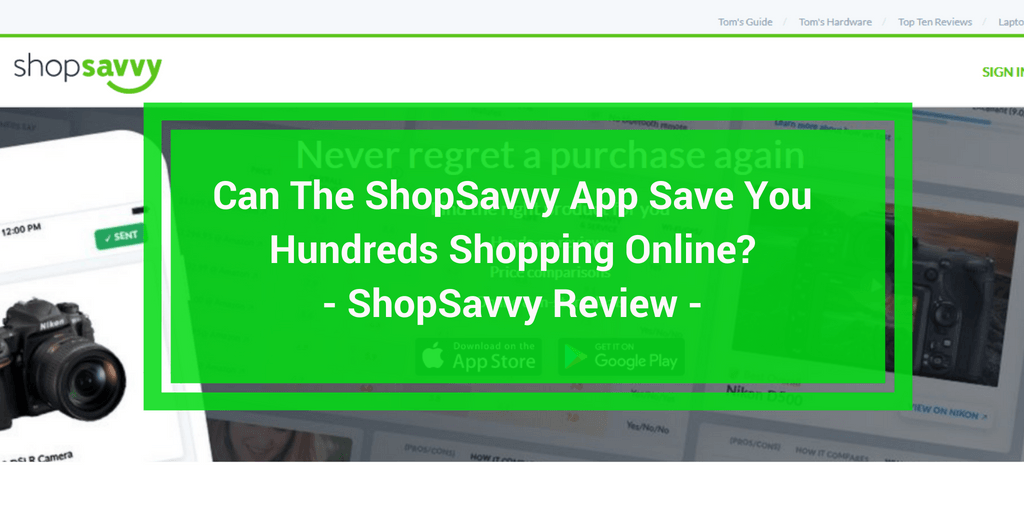 shopsavvy review
