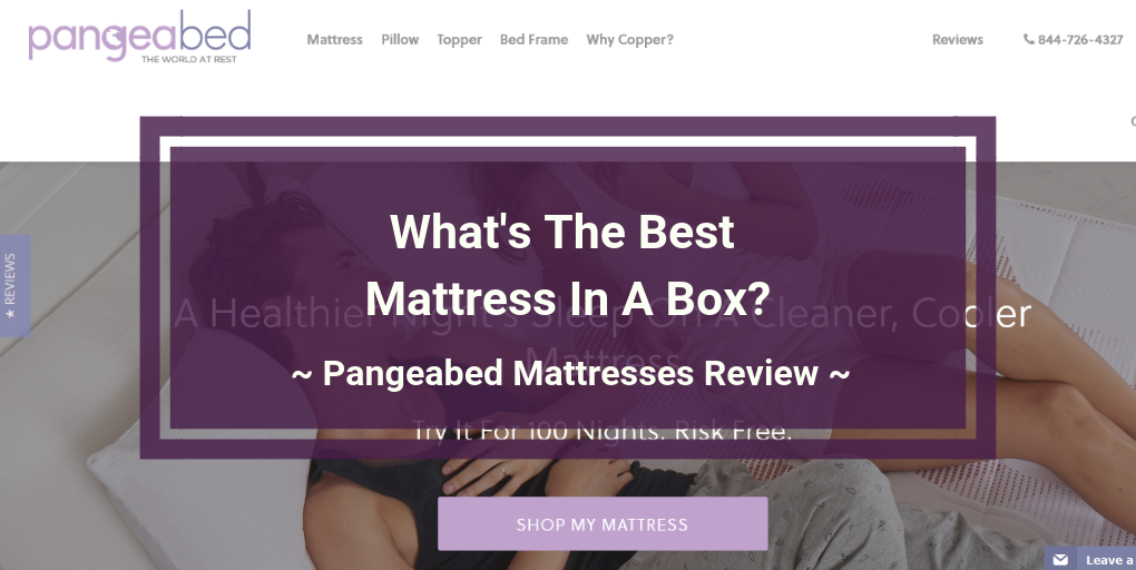 Pangeabed mattress review