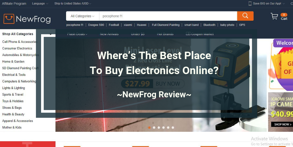 NewFrog Review