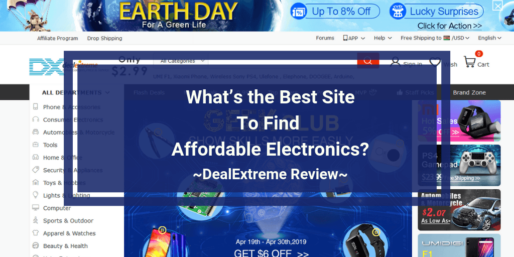 DealExtreme review