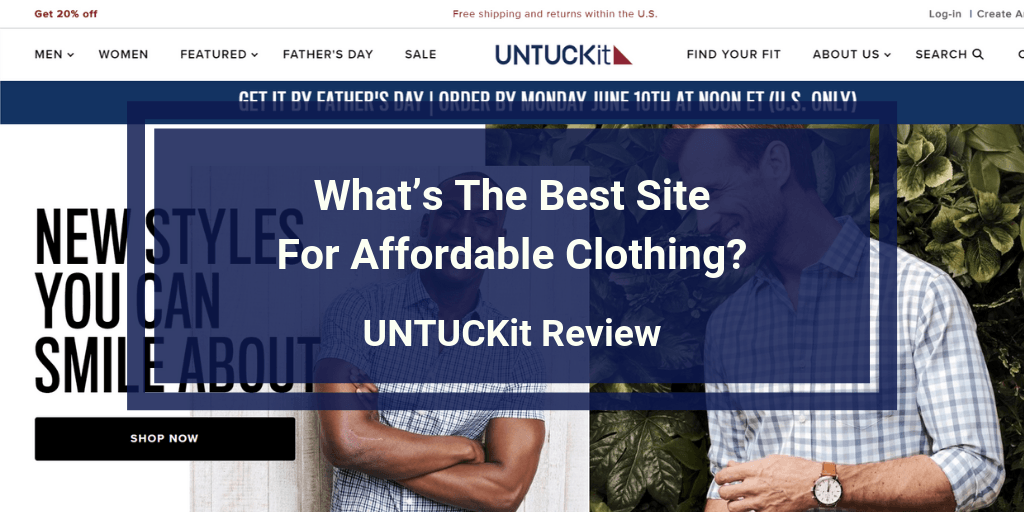 UNTUCKit Review