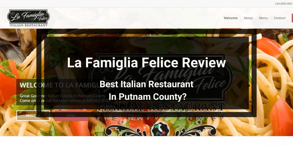 La Famiglia Felice Review